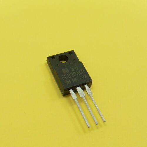 FCU20A40 20A 400V Ultrafast Rectifier Diode Common Cathode NIHON INTER EC TO-220