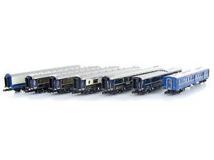 Kato-10-561-personenwagenset-ciwl-Orient-Express-1988-7-piezas-pista-N-nuevo