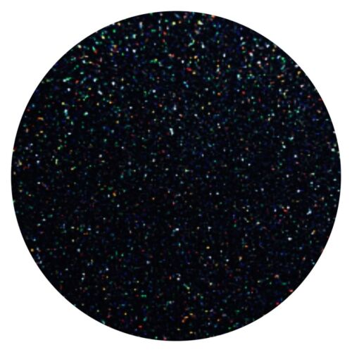 Black Holographic Glitter Powder Pixie Dust Additive Body Nails Arts Crafts DIY