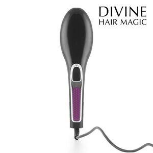 Glättbürste Haarglätter Haarbürste Elektrische Bürste Thermobürste