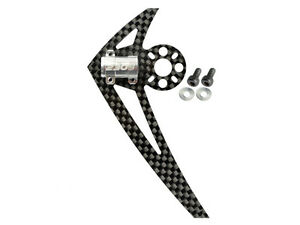 Microheli-Blade-200-S-230-S-250-CFX-Silver-Tail-Motor-Mount-W-Fin-MH-230S025G
