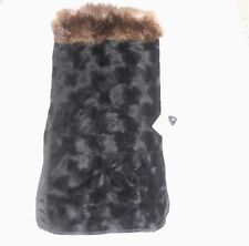 NEW Zealand Sew Lovely Genuine Real Fur Wmn Biker Face Scarf NWT Motorcycle Bike