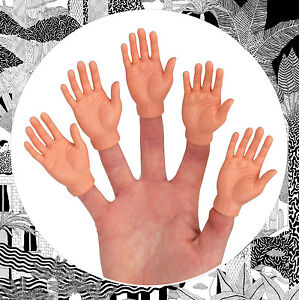Finger Hands- Mini Hands For Your Fingers! Single, Pair or Full Set- Fingerhand