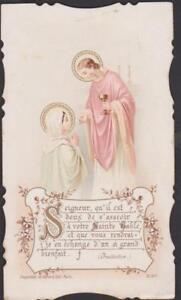 IMAGE PIEUSE HOLY CARD SANTINI SEIGNEUR QU'IL EST DOUX DE S'ASSEOIR .(IMITATION) 1RddXlxU-08044328-187080277