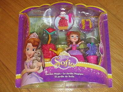 New & Sealed Disney Junior Sofia Garden Magic Il Giardino Magico Mattel Disney Bambole