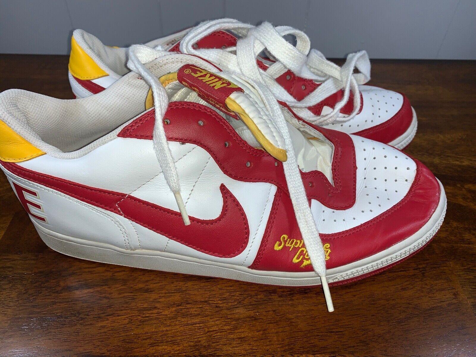 Vintage Mens Nike Terminator Low Supreme Court Athletic shoes 309436-161 Sz 10.5