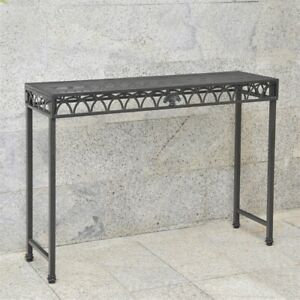 Super Details About Segovia 48 Inch Iron Console Table Ncnpc Chair Design For Home Ncnpcorg