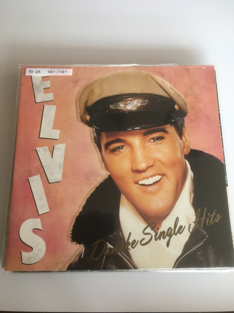 LP, Elvis, Danske Single Hits, Rock