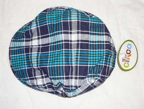 Circo Blue Plaid Newsboy Cabbie Hat Cap Kids Girls Boys Baby Infant Toddler