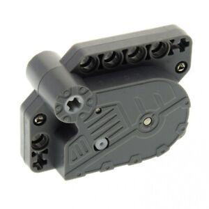 1-x-Lego-Technik-Rueckzieh-Motor-neu-dunkel-grau-Aufziehmotor-Motorrad-Auto-Pull