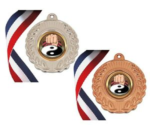 Details about *Martial Arts Medals with Neck Ribbons (not cheap thin ones)