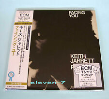 KEITH JARRETT Facing You Japan mini LP CD Gold brand new & still sealed