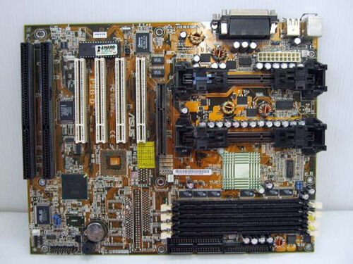 4X PCI ASUS P2B-D P2//P3 Dual Slot 1 Intel 440BX Motherboard 2X ISA AGP