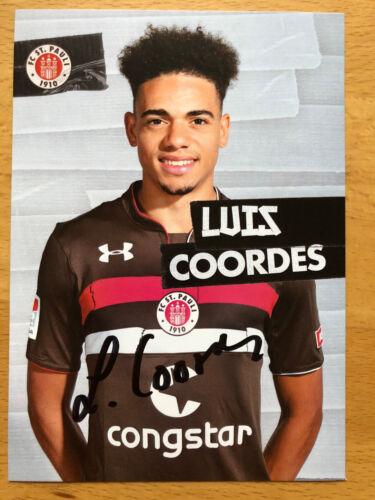 FC St Pauli Autogrammkarte 2018-19 original signiert 1 AK aussuchen