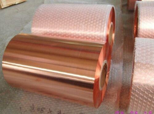Kupferblech,Rollenware 0,7 mm Stärke 33 cm Breite Meterweise
