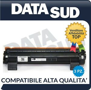KIT-3-TONER-COMPATIBILI-BROTHER-TN-1050-TN1050-MFC-1810-HL-1110-1112A-DCP-1512A