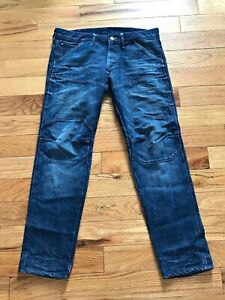 G-Star-Men-039-s-Elwood-3D-Slim-Jeans-Sz-30
