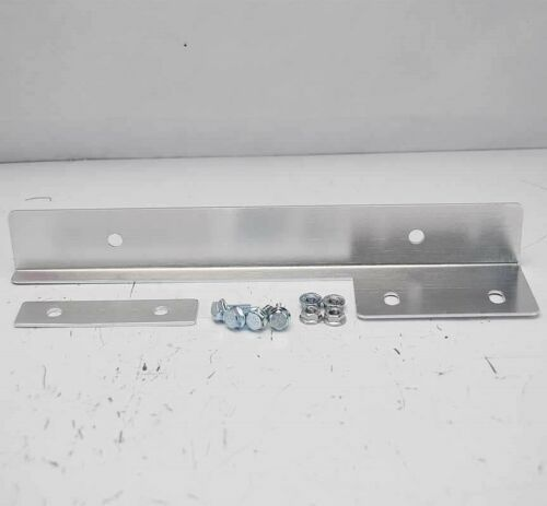 ANODIZED SILVER UNIVERSAL FIT FRONT BUMPER LICENSE PLATE RELOCATOR BRACKET ALUM