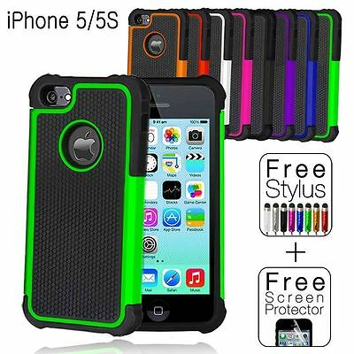 Shockproof Case Cover for Apple iPhone SE 5S 5