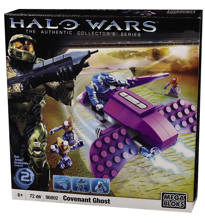 HALO Wars Mega Bloks Covenant Ghost construction building set