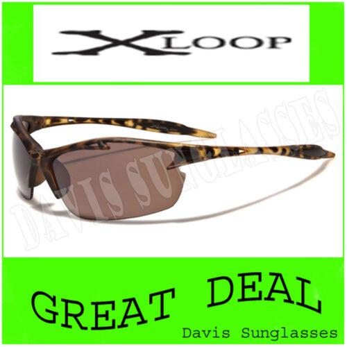 Men/'s women/'s X Loop Sunglasses XL26604 UV400 Davis brown sunnies K11