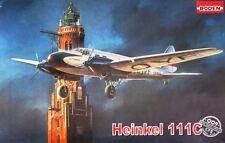 Heinkel él 111 C DLH (alemán Lufthansa marcas) 1/72 Roden Rara!