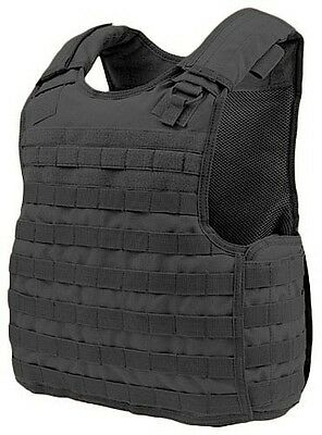 Condor Tactical QPC MOLLE/PALS Defender Body Armor Plate Carrier Vest Rig Black