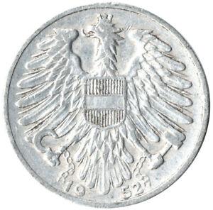 1952-1-GROSCHEN-AUSTRIA-OSTERREICH-WC41