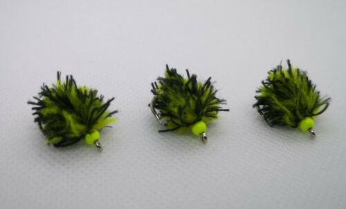 """Details about  / /""""Bumble Bee/"""" Dennis the Menace McEggit eggstacy egg flies set of 3"""