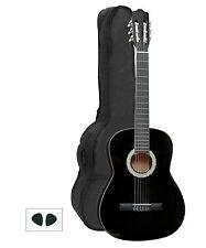 GEWApure Konzertgitarre Cataluna Classic 4/4 - schwarz - inkl. GigBag *NEU*
