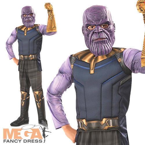 Thanos Garçons Infinity guerre Déguisement Super-héros Villan Kids Halloween Costume