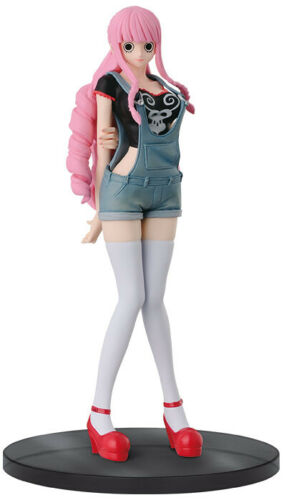 One Piece Perona Jeans Freak Black Version PVC Figure BANPRESTO