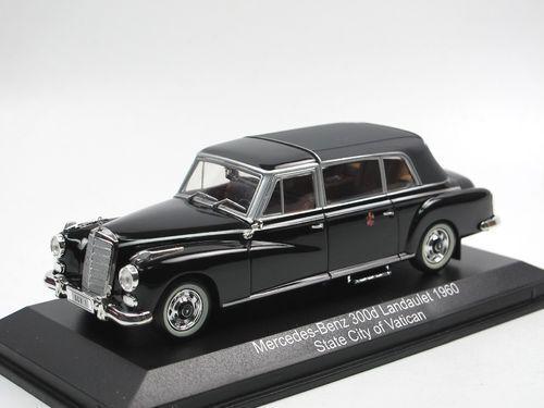 vendendo bene in tutto il mondo Mercedes Benz 300d Leaulet  State città of Vatican Vatican Vatican  1960 (Norev 1 43   351230)  prezzo più economico
