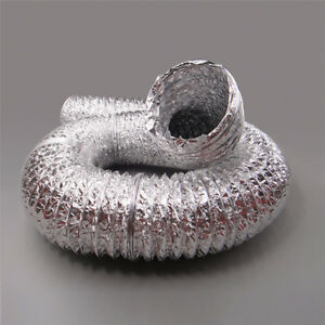 Image is loading 4in-6in-Aluminum-Foil-Hose-Ducting-Flexible-Pipe- : tent aluminum foil - memphite.com