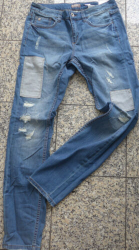 40-54 Blue aufrauungen patch Triangle By S NUOVO Oliver jeans Pantaloni mis 449