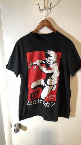 vintage naruto t shirt 2002