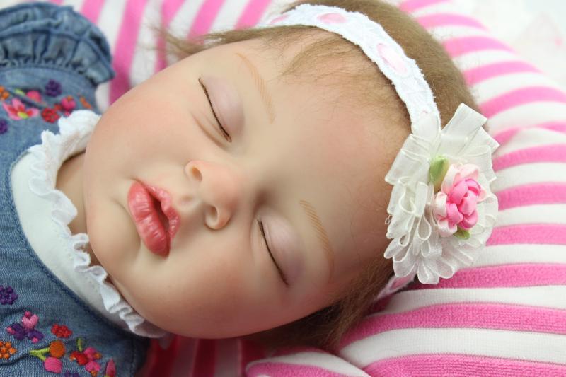 22  REALISTICO SILICONE RINATO Baby realistica Bambola TOY BOY GIRL neonato fatto a mano