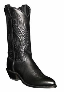 Abilene-9050-Womens-Black-Leather-Western-Boots