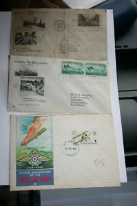 COLLECTION-OF-FIRST-DAY-COVERS-FDC-STAMPS-1945-REMAGEN-50TH-RAF-1968-ANNE-FRANK