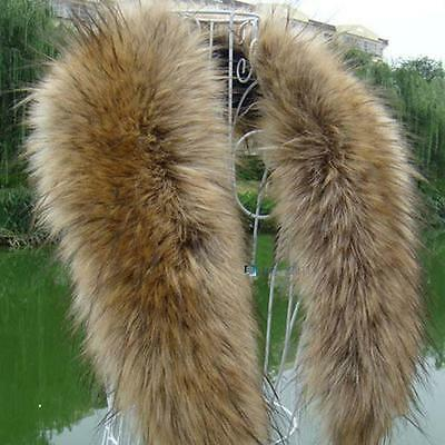 Fashion Faux Fox Fur Collar Scarf Shawl Collar Women's Wrap Stole Scarves #C PK