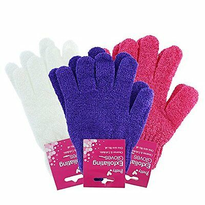 Open-Minded Pretty 1 Pair Of Exfoliating Bath Gloves Random Colour 86891-018 By Scientific Process