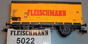 Fleischmann-Wagon-de-Marchandises-5022-Emballage-D-039-Origine-Boite-en-Carton-Pack