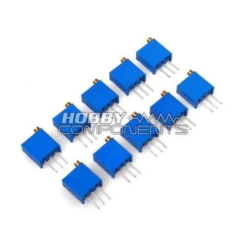 Hobby componentes Ltd 10k Ohm 25 Turn Trimmer pontentiometer paquete De 10