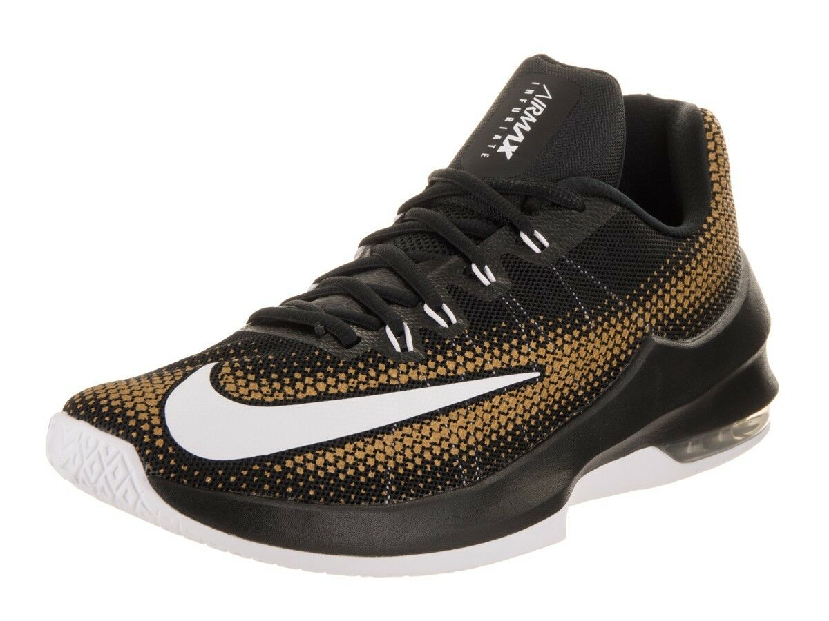 NIKE AIR MAX INFURIATE LOW SIZE 7 MEN'S BASKETBALL SHOES (852457 003)