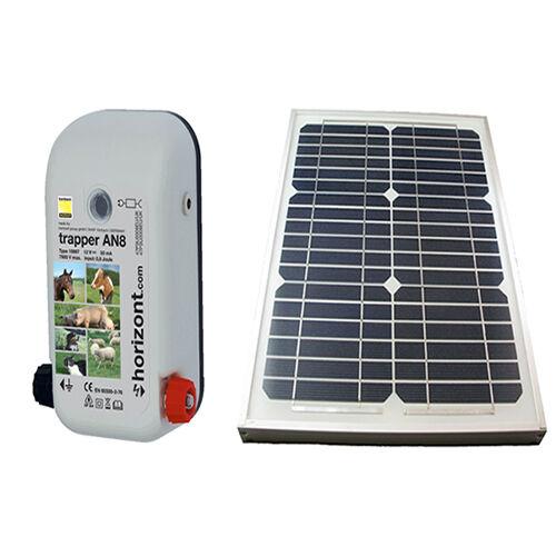 Solar Electric Fencing  Energiser -An12 High Power Solar Kit