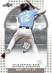 2018-Leaf-Nike-Perfect-Game-Complete-291-card-Set-Bobby-Witt-Jr-CJ-Abrams-RCs