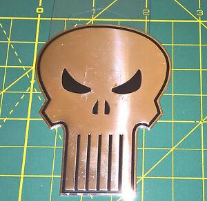"The Punisher Sticker Classic Skull Marvel Metallic Marvel Comics 3.125"" NEW"