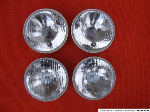 4x phares NEUF LANCIA FULVIA 4x Headlights New conversion marque d/'homologation E h4