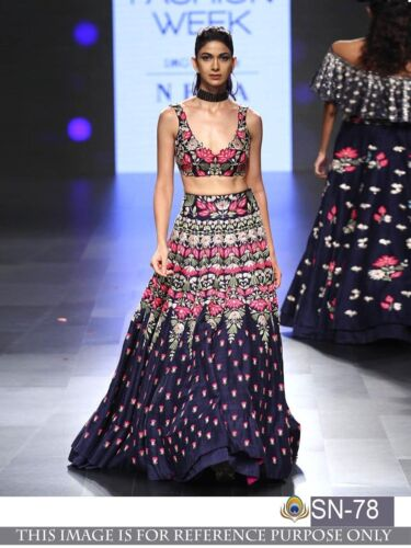 Indian Party Wear Pakistani Bollywood Choli Lehenga Wedding Lengha Chaniya Dress