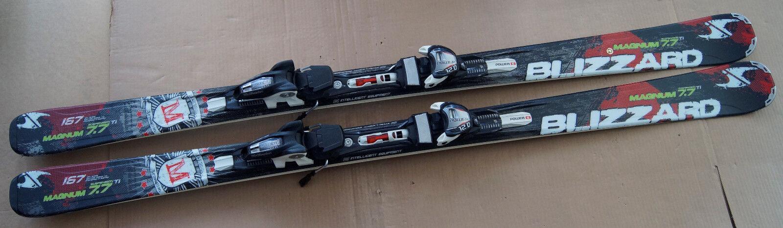 Blizzard Ski Magnum 7.7 TI + Marker Power 12.0 Bindung 167 cm o. 174 cm (170 cm)
